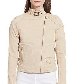 Lauren Ralph Lauren® Stretch Denim Moto Jacket