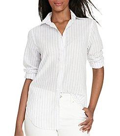 Lauren Ralph Lauren® Striped Cotton Shirt