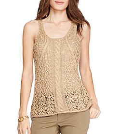 Lauren Ralph Lauren® Cable-Knit Sleeveless Sweater