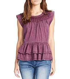 William Rast® Tiered Peasant Top