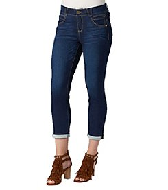 Democracy Solution Terry Back Crop Jeans