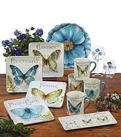 Certified International by Lisa Audit The Greenhouse Dinnerware Collection