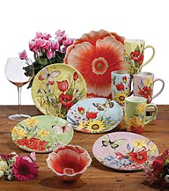 Certified International by Susan Winget Floral Bouquet Dinnerware Collection