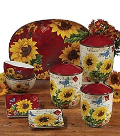 Certified International by Tre Sorelle Studios Sunflower Meadow Dinnerware Collection