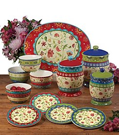 Certified International by Sue Zipkin Anabelle Dinnerware Collection