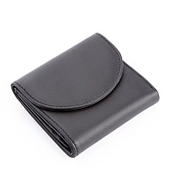Royce® Leather RFID Blocking Women's Compact Tri-Fold Wallet