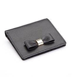 Royce® Leather RFID Blocking Mini Bow Wallet