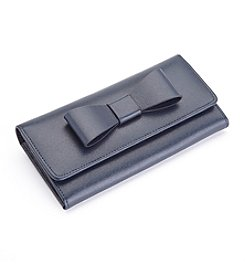 Royce® Leather RFID Blocking Large Bow Wallet