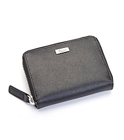 Royce® Leather RFID Blocking Mini Fan Wallet