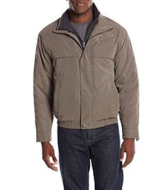 Weatherproof® Men's Microfiber Coat With Bib