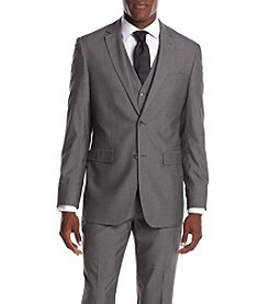 Perry Ellis® Men's Slim Fit Herringbone Suit Seperates Jacket