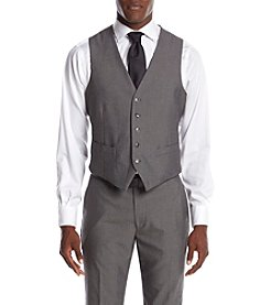Perry Ellis® Men's Slim Fit Herringbone Suit Separates Vest