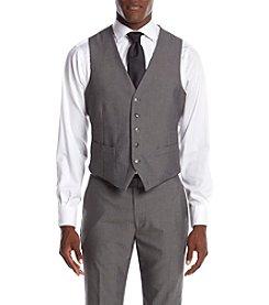 Perry Ellis® Men's Slim Fit Herringbone Suit Seperates Vest