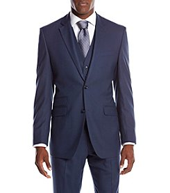 Perry Ellis® Men's Slim Fit Sharkskin Suit Seperates Jacket