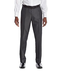 Perry Ellis® Men's Slim Fit Charcoal Twill Suit Separates Pants