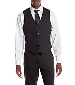 Perry Ellis® Men's Slim Fit Solid Suit Seperates Vest