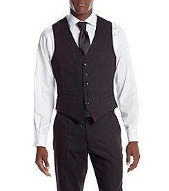 Perry Ellis® Men's Slim Fit Solid Suit Seperates Vest