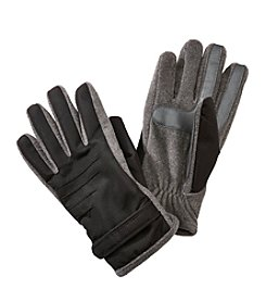 Isotoner Signature® Men's Smartouch Matrix Gloves