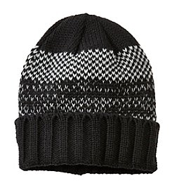 John Bartlett Statements Men's Knit Birdseye Cuff Hat