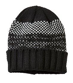 John Bartlett Statements Men's Knit Birdseye Cuff Hat