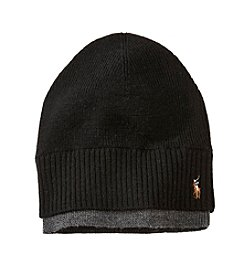 Polo Ralph Lauren® Men's Merino Rib Watch Cap