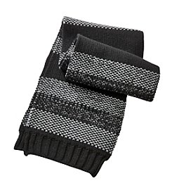 John Bartlett Statements Birdseye Stripe Scarf
