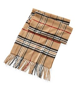 John Bartlett Statements Fraas Plaid Cashmink Scarf