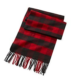 John Bartlett Statements Traditional Buffalo Check Scarf