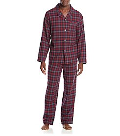 John Bartlett Statements® Men's Flannel PJ Set