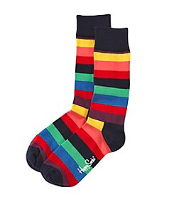 Happy Socks® Men's Bright Stripe Dress Socks