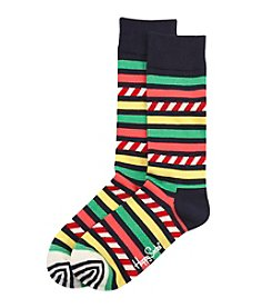 Happy Socks® Men's Striped Dress Socks