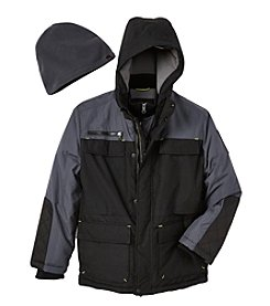 Hawke & Co. Boys' 8-20 Vestee Parka Jacket With Hat