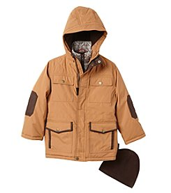 Hawke & Co. Boys' 4-7 Parka Jacket With Hat