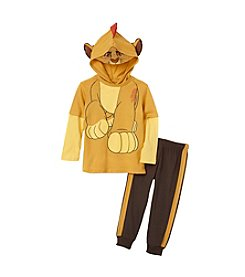 Nannette® Boys' 2T-4T 2-Piece Lion King Joggers Set