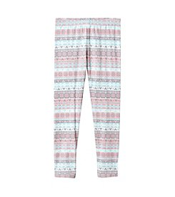 Mix & Match Girls' 2T-6X Fairisle Leggings