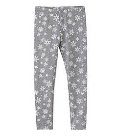 Mix & Match Girls' 2T-6X Snowflake Leggings