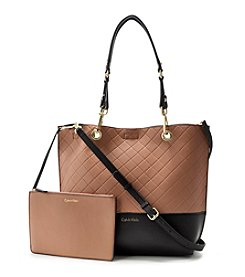 Calvin Klein Reversible Quilted Tote