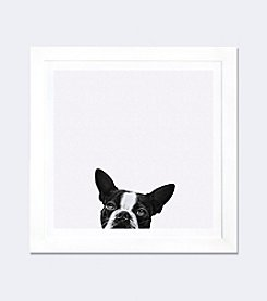 iCanvas Loyalty by Jon Bertelli Framed Fine Art Paper Print
