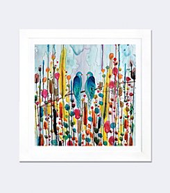 We by Sylvie Demers Framed Fine Art Paper Print