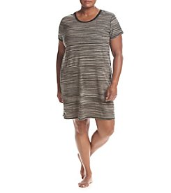 KN Karen Neuburger Plus Size Live Love Lounge Tunic
