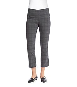 Ruff Hewn GREY Plaid Crop Pants