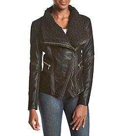 GUESS Asymmetrical Zip Jacket