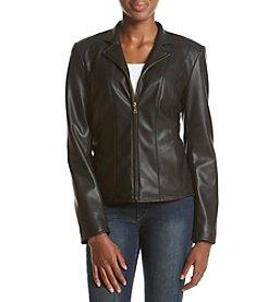 Cole Haan® Wing Collar Scuba Jacket