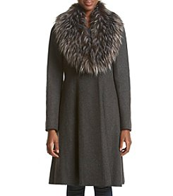 Vera Wang® Serena Fit And Flare Coat