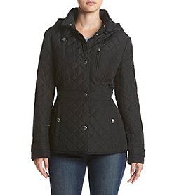 Chaps® Hooded Quilt Jacket