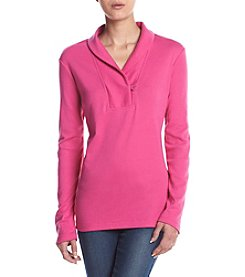 Studio Works® Petites' Shawl Collar Top