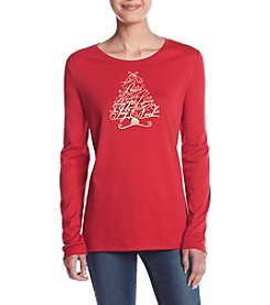 Studio Works® Petites' Crew Neck Top