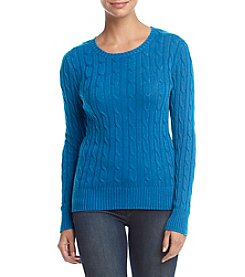 Studio Works® Petites' Cable Knit Sweater