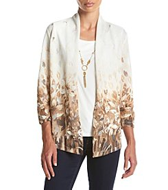 Alfred Dunner® Santa Fe Ombre Layered Look Sweater