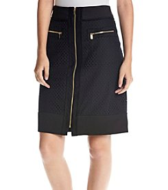 Jones New York® Novelty Combo Skirt